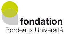 logo fondation Bordeaux université